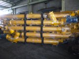 transportband van de Schroef van Sicoma van de Verkoop van 219mm de Hete voor de Silo's van het Cement