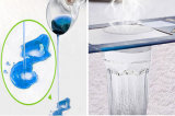 Jacquard blanco sensación de frescor de la capa de aire montado ignífugos resistentes al agua hoja