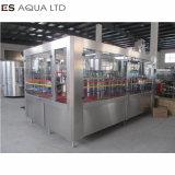 Soude automatique de boire de la vapeur en verre plastique bouteille peut l'eau liquide de lavage de l'équipement de plafonnement de la machinerie de la machine de remplissage