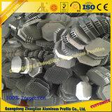 El disipador de calor de aluminio solicita la construcción de la maquinaria