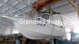 7,5 m/24 FT a velocidade de fibra de barco de pesca