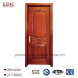 Matériau de porte intérieur MDF Semi porte en bois massif