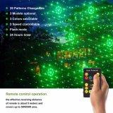 Las luces laser de la Navidad teledirigida del RF de los modelos del RGB 20, proyector al aire libre se encienden (NL69)
