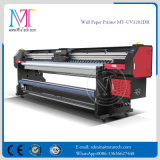Impresora de inyección de tinta UV con Epson DX5 Prinhead dx7 para el papel de la pared se une película suave papel Mt-Wall3207UV de