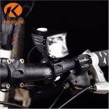 Recargable ultra brillante luz delantera de bicicletas de paseo de noche