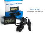 3 metros de cable Mini Pantalla LCD digital de Promoción Exterior Higro termómetro