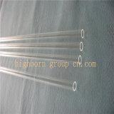 Tubo del quarzo trasparente