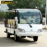 Автомобиль Excar 11 Seater электрический Sightseeing с корзиной утюга