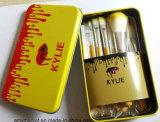Желтый цвет комплекта щетки Kylie профессиональный белый составляет комплект щетки с коробкой 12PCS металла