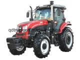 FOTON LOVOL/YTOのトラクター、販売のための小屋との120HP 4WD Traktor