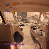 barco de pasajero del 11.5m con la carrocería del barco de FRP