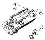 De Pomp van de brandstofinjectie voor Deutz Motor F8l413