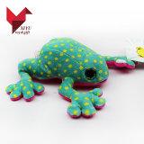 Hotsale a bourré le jouet mou de grenouille de peluche pour des filles