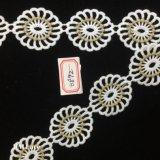 4cm de la province de Guangdong Mesh Round Fleur dentelle de fraisage, beau ruban Factory Outlet hme892