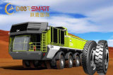 Tous les radial de l'acier des pneus de camion à benne à usage intensif, TBR pneu, remorque-autobus pneu 6.50R16 7.00r16 7.50r16 8.25r16