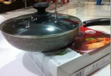 Алюминиевый Cookware сковороды Maifanite Non-Stick (LSD-024)