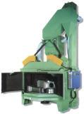 Dar vuelta a la máquina del chorreo con granalla del vector (Q35)