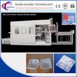 Machine automatique de Thermoforming de modèle neuf dans le découpage et le dispositif d'empilement grand endroit de formation