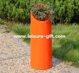 Fo-203 colorido Floral sembradoras de fibra de vidrio lacado