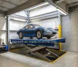 車の駐車のための油圧ホームガレージの上昇