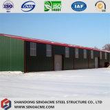 Frame de aço claro Prefab para o armazém de Sinoacme