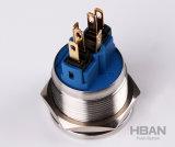 22mm IP65 imprägniern momentanen verriegelnden Typen Drucktastenschalter