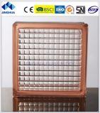 Параллельно Jinghua коричневого цвета 190X190X80мм стекло из кирпича/блока цилиндров