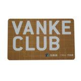 Carte en plastique d'adhésion de code de PVC Card/Qr de cadeau avec le laminage