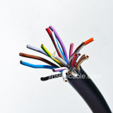 Multi cabo de controle isolado PVC dos núcleos