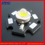 1W Blanco frío LED de alta potencia con disipador de calor