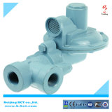 Régulateur industriel de gaz naturel de corps en aluminium, clapet à gaz BCTNR08