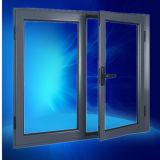 La non rupture thermique seul verre aluminium Fenêtre de pivotement