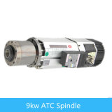 9kw Air Cooling Atc Spindle Motor para CNC Router