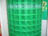 Malha de arame soldada revestida de PVC / galvanizado para segurança
