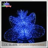 Indicatori luminosi esterni del loto della decorazione della via del fiore di motivo di festa LED 3D