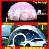 명확한 투명한 백색 PVC 호화스러운 돔 천막 Fastup