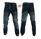 Los hombres de piedra de la moda Denim lavado Jeans