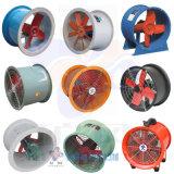 Ventilador axial resistente al desgaste y al rasgón