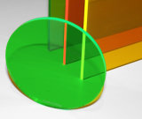 장식적인 표시 두꺼운 Custome 색칠 LED 100%년 Virgin 투명한 색깔 PMMA 아크릴 장