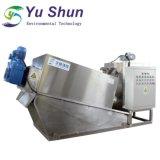 Klärschlamm-entwässernmaschine für Samll Abwasserbehandlung-Pflanze