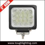 EMCは5インチ60Wの正方形の頑丈なクリー族LED作業ライトを承認した