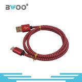 Tipo-c micro cable del relámpago caliente colorido de la venta de datos del USB
