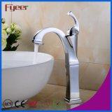 Salle de bains de style Vitage Fyeer plaqué chrome Hot l'eau froide robinet mélangeur