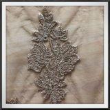 網の刺繍のレースのテュルの刺繍のレースの花の刺繍のレース
