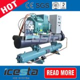 Unidade de condensação arrefecidas a água com Bitzer Semi-Hermetic Compressor de pistão
