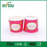 12 oz desechables PE doble recubierto de hielo crema tazones de papel para la venta caliente