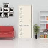 Подгонянная твердая звукоизоляционная деревянная пластичная составная нутряная дверь (YM-020)
