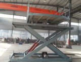 Вращая платформа подъема автомобиля с верхней частью Turntable
