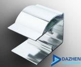Het Profiel van het aluminium voor Deur Encloser van de Douche van de Badkuip de Glijdende