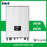 Inverseur solaire Réseau-Attaché triphasé de la série 6kw/6000W d'Invt BG